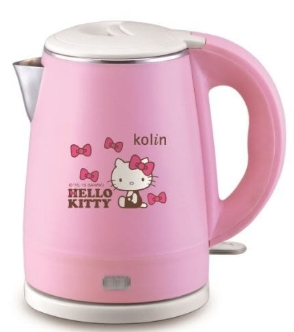 【歌林】Hello Kitty雙層隔熱不鏽鋼快煮壺(KPK-MNR1032)