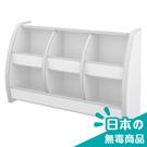 書櫃 收納櫃【收納屋】小木偶六格收納櫃-白&DIY組合傢俱