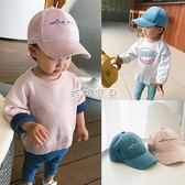 兒童帽子 童裝嬰幼兒女寶寶鴨舌帽棒球帽字母兒童男童遮陽帽子 珍妮寶貝