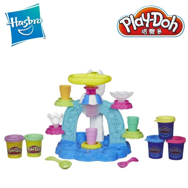 Play-Doh培樂多-聖代冰淇淋遊戲組