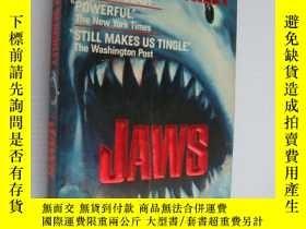 二手書博民逛書店JAWS罕見三面刷黃Y85718 Peter Benchley