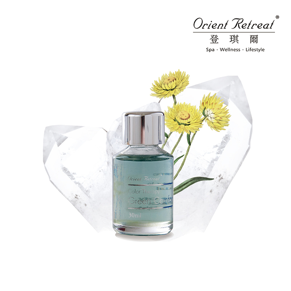 【Orient Retreat登琪爾】五色礦彩油-舒放綠 Green Comfort (30ml/瓶)