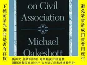 二手書博民逛書店Hobbes罕見On Civil Association-霍布斯論公民交往Y436638 Michael Oa