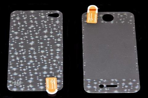 USAMS 3D 雷射Laser 高耐磨 手機螢幕保護貼膜 Apple iPhone 4S 圓球 (二片裝)