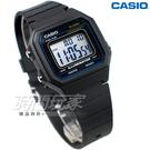 CASIO卡西歐 W-217H-1A 方形 數字錶 超亮LED照明 電子錶 黑色 防水手錶 男錶 W-217H-1AVDF