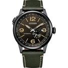 CITIZEN 星辰 飛行風 軍綠 機械錶 NJ0147-18X /42mm