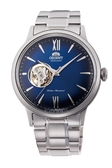 [Y21潮流精品] 新款!ORIENT 東方錶 SEMI-SKELETON系列 鏤空機械錶 鋼帶款 藍色 RA-AG0028L