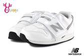 New Balance 996 小童 真皮慢跑鞋 摩登復古 寶寶運動鞋 輕量 按摩鞋墊 O8467#白色◆OSOME奧森鞋業
