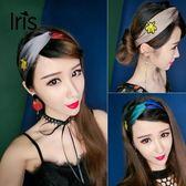 歐美復古甜美森女系撞色交叉個性韓國束髪帶髪飾  ys647『寶貝兒童裝』