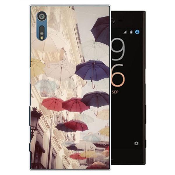 ♥ 俏魔女美人館 ♥SONY Xperia XZ {雨傘*水晶硬殼} 手機殼 手機套 保護殼