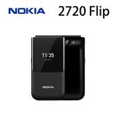 諾基亞 NOKIA 2720 Flip 4G版本 折疊手機-黑/紅 [分期0利率]