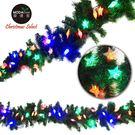 【摩達客】9呎270cm聖誕裝飾樹藤條 (彩光星星LED50燈串系) (DIY組合-可彎曲調整 可掛門邊/窗邊/牆沿