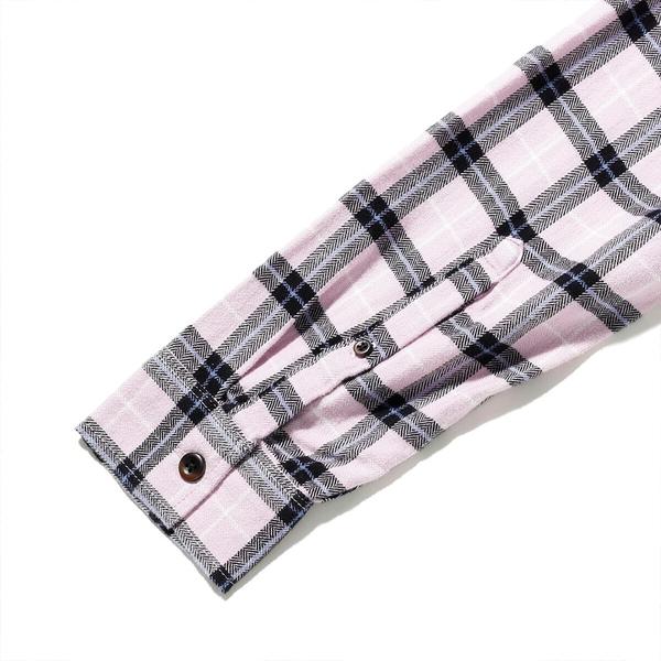 Levis 男款 格紋襯衫 / 滑板系列 / 寬鬆休閒版型 / 香芋紫