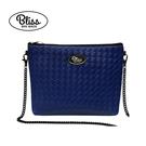 【原廠正品】泰國Bliss BKK包 側背包 素色編織紋藍 4款背帶可選 現貨供應中