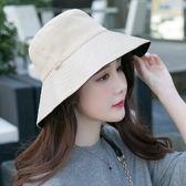 漁夫帽遮陽帽防曬帽子女大沿帽休閒