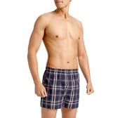 【三槍牌】時尚經典型男平織棉四角褲 隨機取色 (3件組)