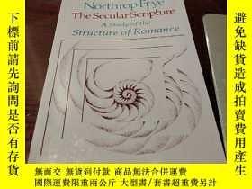 二手書博民逛書店The罕見Secular Scripture: A Study