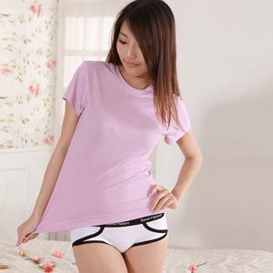 【OSK】Sexii Hippo【清新白】黑線條混搭性感中腰彈力貼身內褲(女8230三角褲)