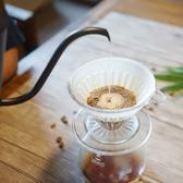 TIMEMORE泰摩冰瞳手沖咖啡套裝組(360ml+PC濾杯01號)玻璃分享壺360ml+
