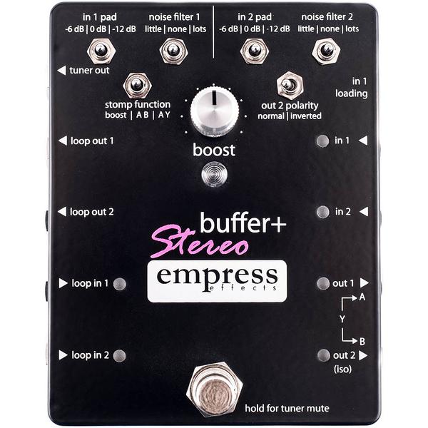 加拿大 Empress Effects Buffer+ Stereo 效果器 總代理公司貨 一年保固