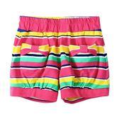 『小鱷魚童裝』亮彩條紋短褲(02號~08號)535682
