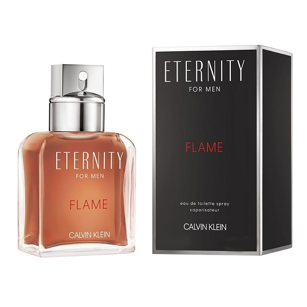 Calvin Klein CK Eternity FLAME 永恆熾愛男性淡香水50ml【UR8D】