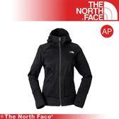 【The North Face 女 防潑水保暖兜帽外套《黑》】3L9F-JK3/連帽外套/保暖外套/登山旅行