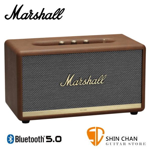 【缺貨】Marshall Stanmore II 藍牙喇叭 復古棕 全新2代 Stanmore Ⅱ 無線喇叭 藍牙音箱音響 / 台灣公司貨