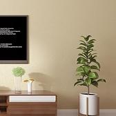 仿真日式亞麻純色素色壁紙客廳臥室酒店餐廳牆紙PVC防水 簡約現代ATF 艾瑞斯居家生活