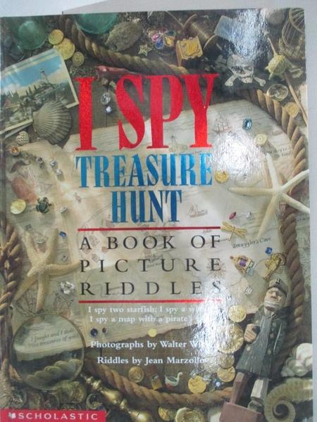 【書寶二手書T1/少年童書_EJO】I Spy Treasure Hunt: A Book of Picture Riddles_Wick