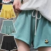孕婦褲子夏季薄款外穿寬鬆休閒孕婦短褲2020時尚潮辣媽運動褲夏裝 童趣屋