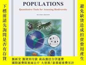 二手書博民逛書店Surveying罕見Natural Populations: Quantitative Tools For As