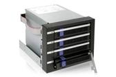 "ICY DOCK FatCage MB154SP-B 四層式 附 EZ-Tray 3.5"" SATA HDD 熱插拔 (4轉3) 3.5"" 硬碟內接模組"