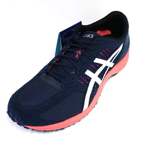 【ASICS 亞瑟士】男 TARTHERZEAL 虎走6 馬拉松鞋 輕量 抓地力 競速鞋 T820N-4993 丈藍 [陽光樂活]