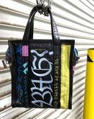 ■專櫃61折■ Balenciaga 全新真品Bazar XS 513989小款小羊皮兩用包 塗鴉彩色