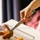 BreadLeaf 防滑 防燙手設計 粉色韓式不鏽鋼烤肉夾【B036】麵包夾 燒烤工具 烤肉鐵夾 夾子