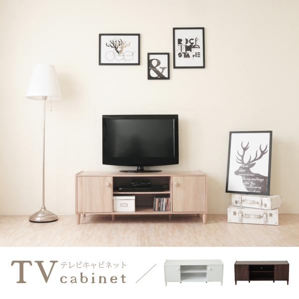 《HOPMA》和風原木系二門電視櫃/收納櫃F-L2D118