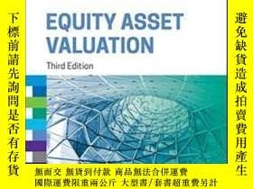 二手書博民逛書店Equity罕見Asset Valuation (cfa Institute Investment Series)