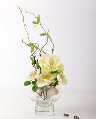模擬花假花 套裝 花藝 客廳餐桌 裝飾花 花瓶 -bri010030
