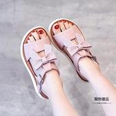 女童涼鞋夏季小女孩童鞋兒童中大童公主鞋子【聚物優品】