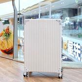 行李箱 ins網紅抖音行李箱女輕便旅行箱24寸密碼箱高中大學生拉桿箱箱子 T 8色