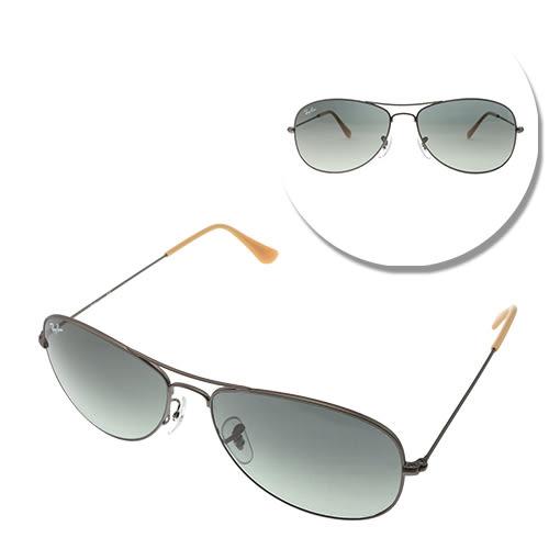 【Ray Ban】經典雷朋 COCKPIT漸層色鏡面太陽眼鏡(RB3362-029/71-59)