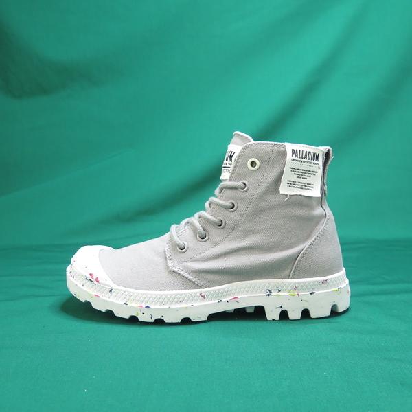 Palladium PAMPA HI ORGANIC 高統靴 正品 96199009 灰色 女款【iSport愛運動】