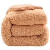 羊羔絨冬被春秋被子加厚保暖棉被芯單人雙人學生宿舍空調被