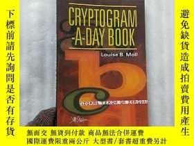 二手書博民逛書店CRYPTOGRAM-A-DAY罕見BOOK 32開【內頁乾淨】