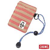 CHUMS Sweat 卡片夾-牡丹粉 【GO WILD】
