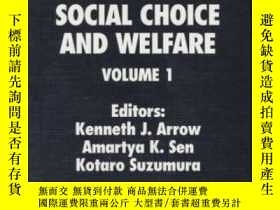 二手書博民逛書店Handbook罕見Of Social Choice And Welfare, Volume 1Y256260