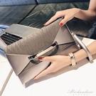 新款信封手包手抓包韓版個性時尚百搭氣質手拿包女 黛尼時尚精品