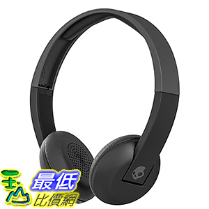[106美國直購] 耳機 Skullcandy Uproar Bluetooth Wireless On-Ear B00WGMRD2S with Built-In Mic , Black