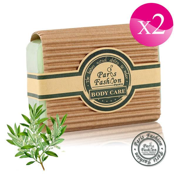 【Paris Fragrance巴黎香氛】橄欖葉精油手工香皂150G(2入)